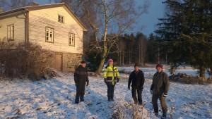 Reija, Paavo, Jarmo ja SEppo 24.11.2015 Röytty