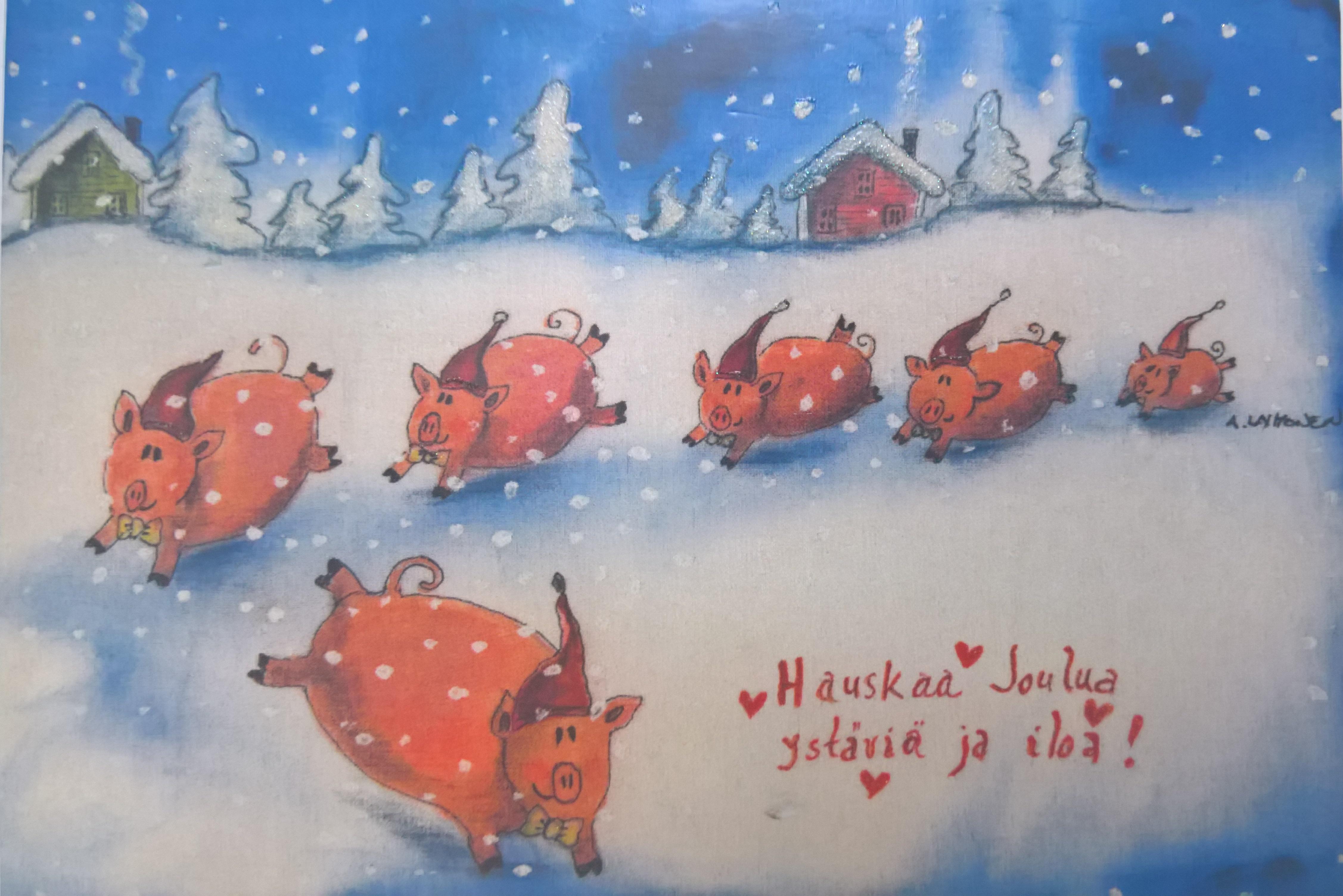 Hauskaa Joulua ja Riemukasta Uutta Vuotta 2018
