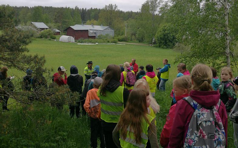 Taipalsaarelaisen ruisleivän tie pellolta pöytään – teemaan liittyvä yhteistapahtuma Taipalsaaren koulujen kanssa