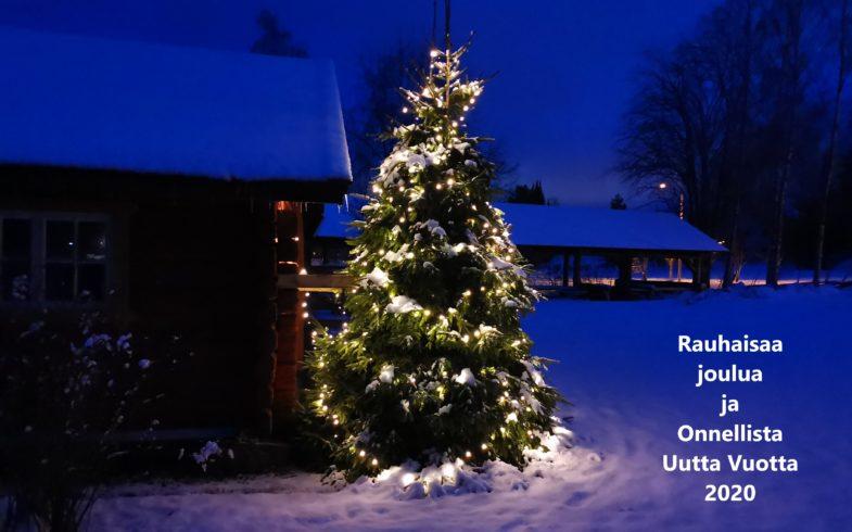 Hyvää Joulua ja Onnellista Uutta Vuotta 2020