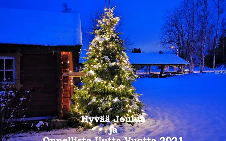 Rauhaisaa Joulua ja Onnellista Uutta Vuotta 2021