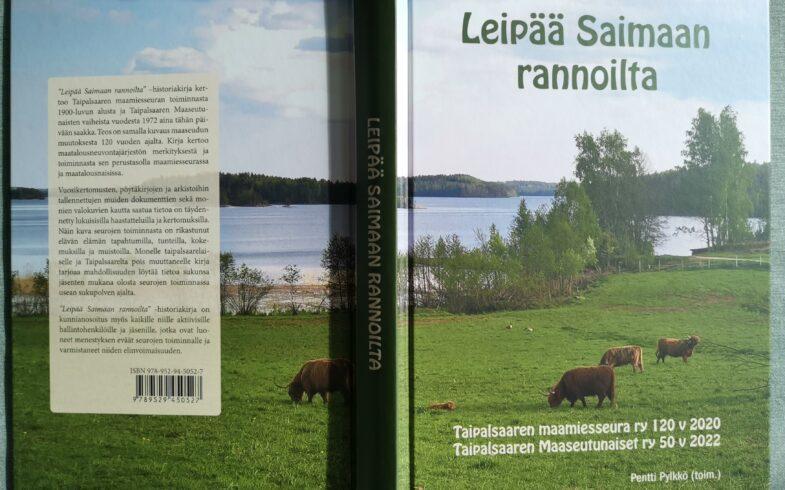 Leipää Saimaan rannoilta -historiakirjaa nyt saatavissa M-Market Taipalsaaren kaupasta